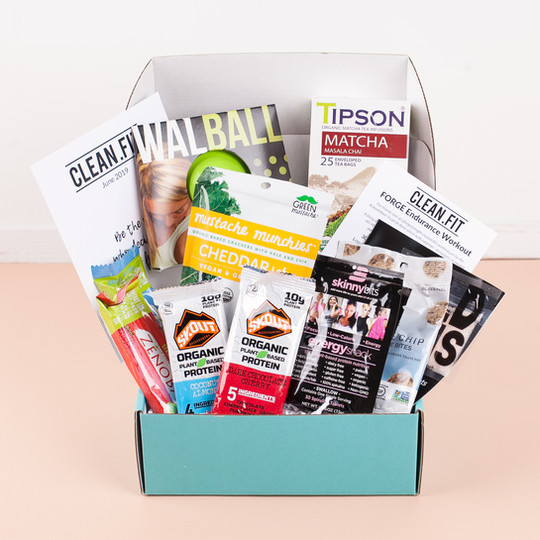 June 2019 CLEAN.FIT box