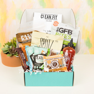 July 2020 CLEAN.FIT box