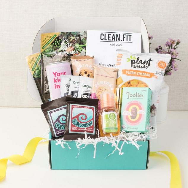 April 2020 CLEAN.FIT boxjpg