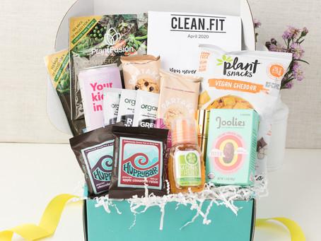 April 2020 CLEAN.FIT Box