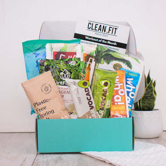 March 2021 CLEAN.FIT box