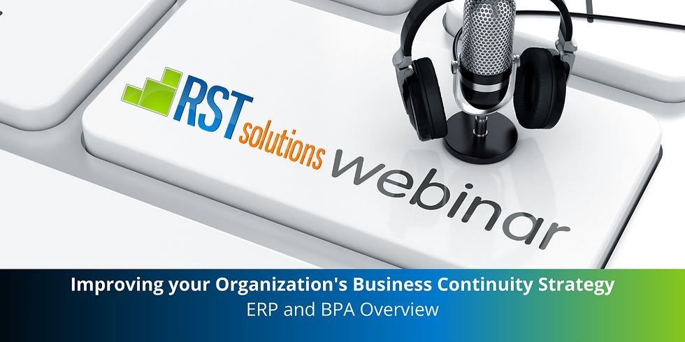 Business Continuity Series