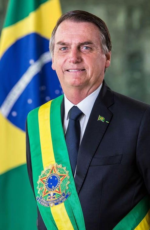 De Alan Santos/Presidência da República. - Foto oficial do presidente da república, Jair Bolsonaro., CC BY 3.0 br, https://commons.wikimedia.org/w/index.php?curid=75769915