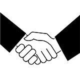 business-handshake-icon-on-white-backgro