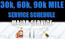 90000 Mile Service
