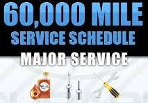 60000 Mile Service