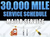 30000 Mile Service