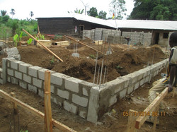 BCO foundation is taking shape.