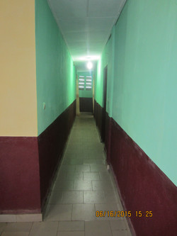 Hallway leading to back bedrooms.