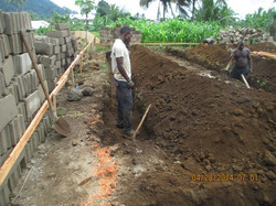 Excavation for Foundation