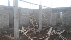First floor complete, ready for 2nd