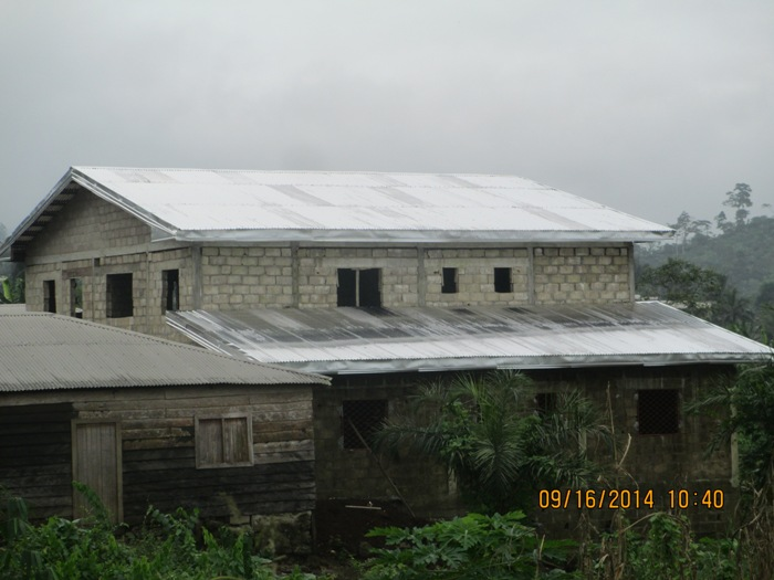 Iron sheets completed