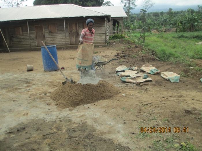 Preparation for Molding of Blocks