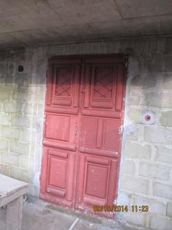 Main entrance iron door