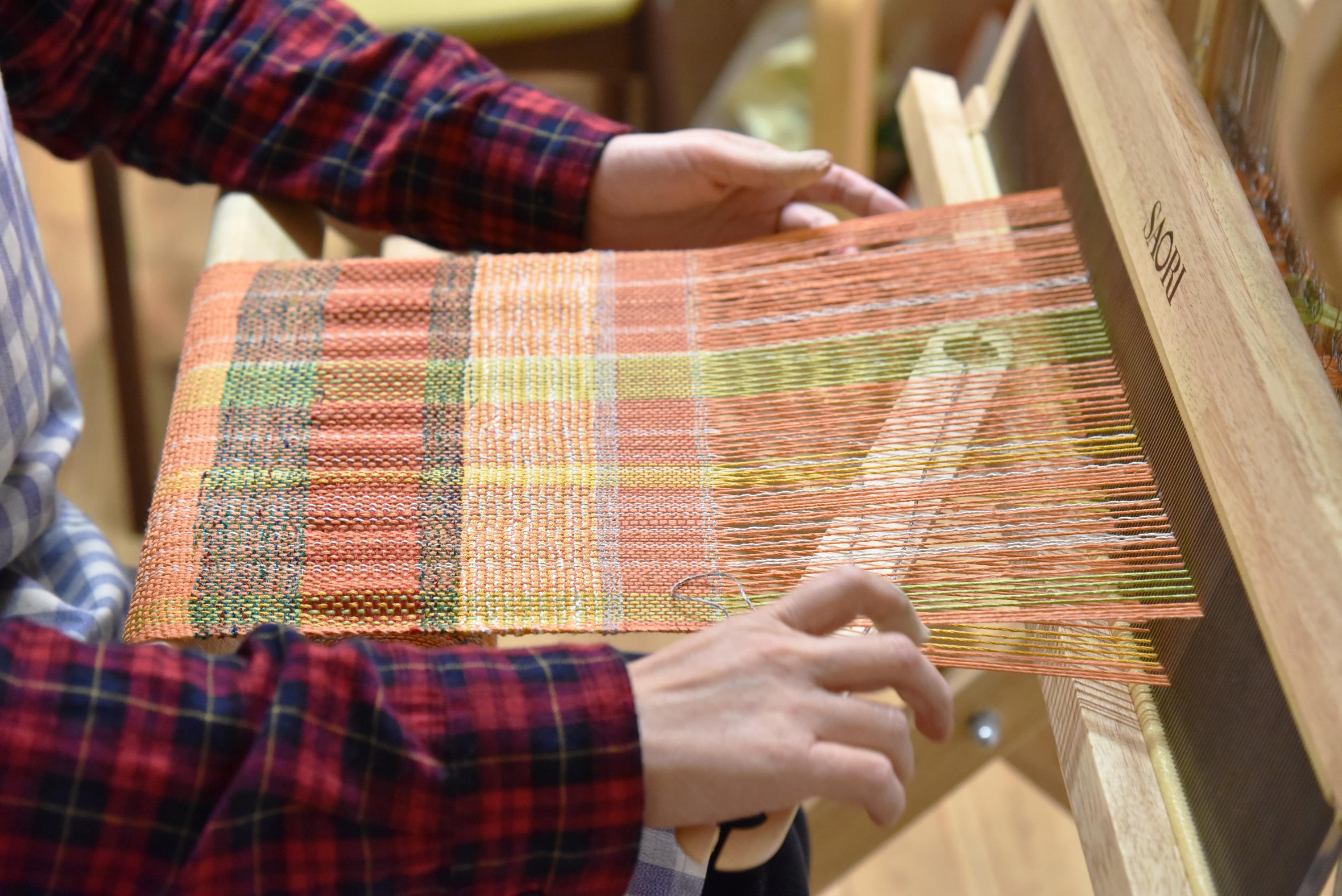 工房あしたやのさをり織り
