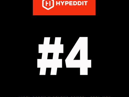 #4 in the Hypeddit Charts...