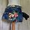 Thumbnail: Reworked Denim Half Apron ~ Multi Floral