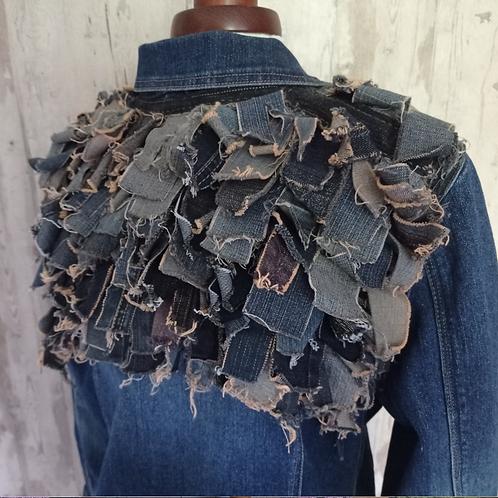 Denim Textured Jacket