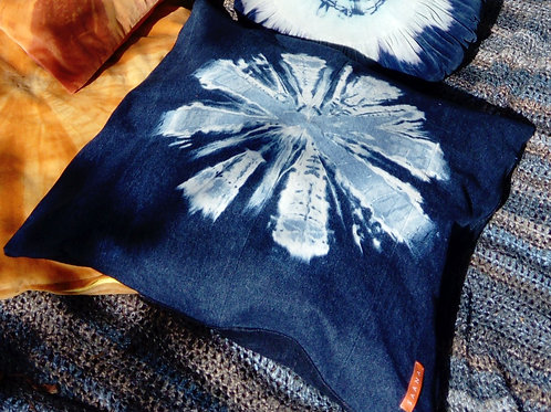 Recycled Denim Floor Cushions