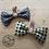 Thumbnail: Vintage Silk Dog Bow Ties