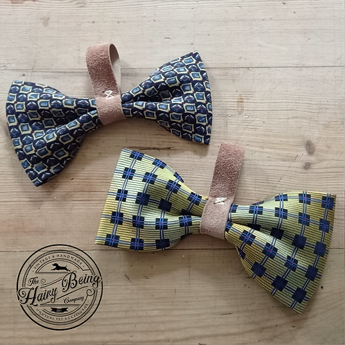 Vintage Silk Dog Bow Ties