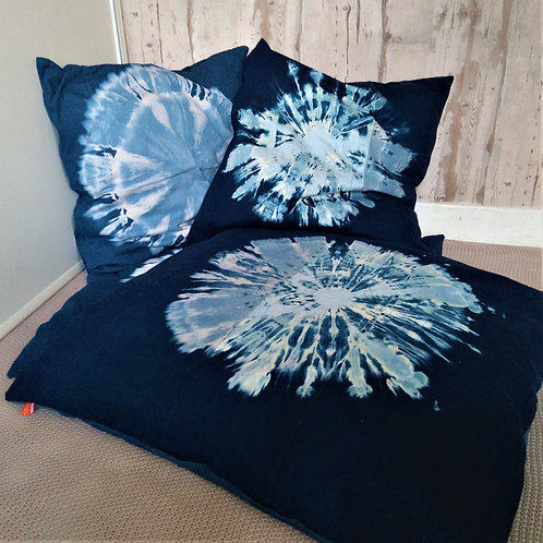 Recycled Denim Floor Cushion Covers