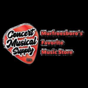 Concert Musical Supply Logo