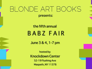 We are going to be at BABZ!