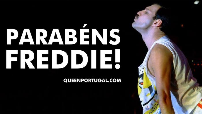 Parabéns Freddie!