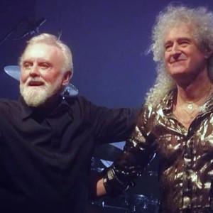 Roger Taylor conclui a Outsider Tour em Londres... com um convidado especial
