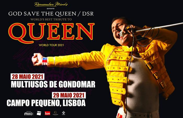 Dios Salve a la Reina remarcam tour para 2021