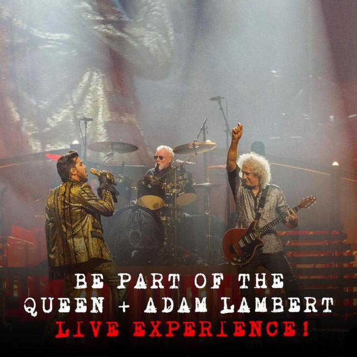 Chamada para todos os Fãs dos Queen + Adam Lambert pelo Mundo!