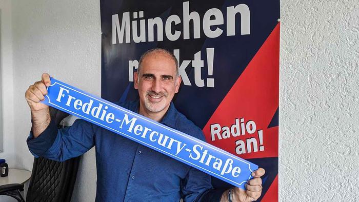 Rua Freddie Mercury anunciada em Munique