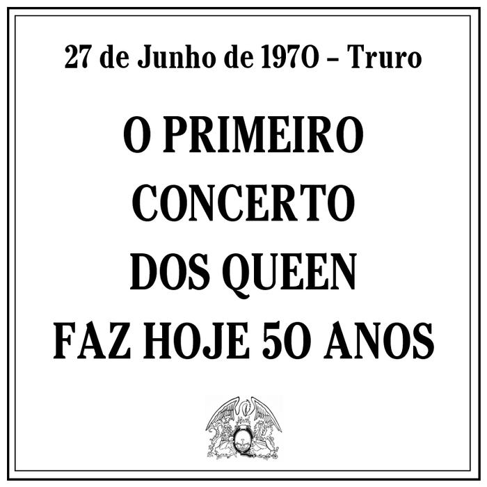 O primeiro concerto dos Queen foi há 50 anos