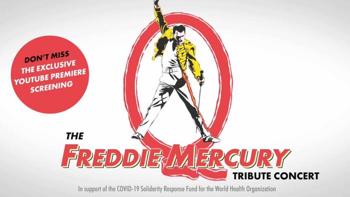 Freddie Mercury Tribute Concert | Apoio à Organização Mundial de Saúde