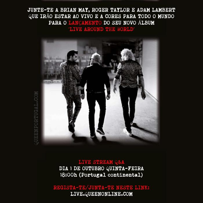 Queen + Adam Lambert | Live Around The World - Live Stream Q&A