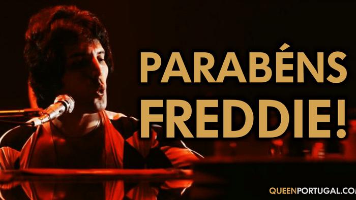 Parabéns Freddie Mercury!