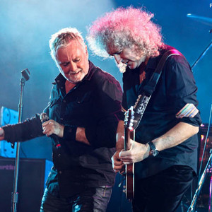 Brian May e Roger Taylor no Rock This Podcast