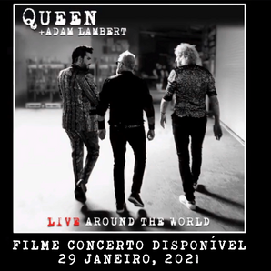 Em breve… 'Live Around The World' o filme do concerto, disponível para download e aluguer