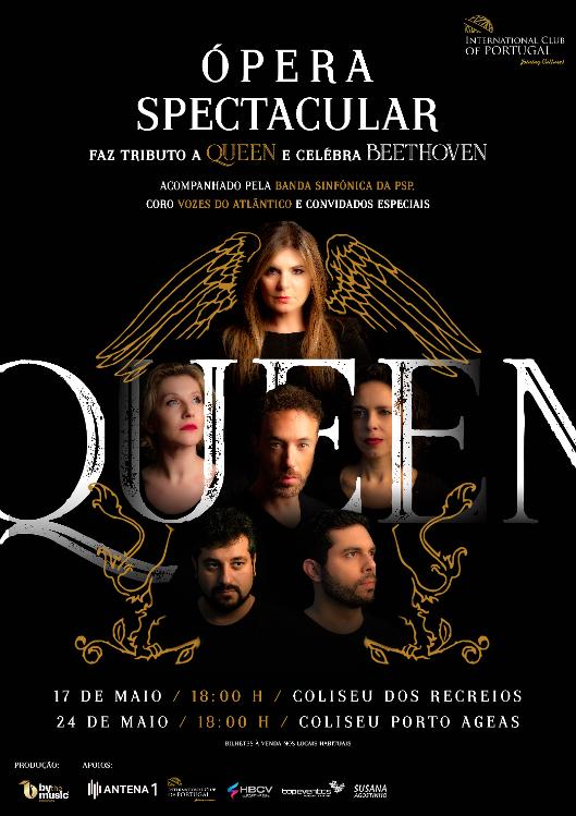 Ópera Spectacular – Tributo Queen e Celebra Beethoven