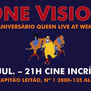 One Vison tocam dia 24 de Julho em Almada celebrando os 35 anos dos Queen em Wembley