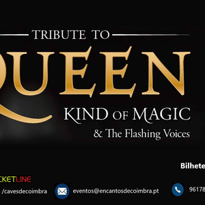 Concerto dos Kind of Magic & The Flashing Voices dia 19 de Junho em Coimbra