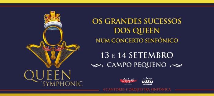 Queen Symphonic - Os grandes sucessos dos Queen num concerto sinfónico