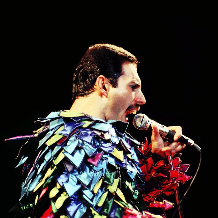 Freddie Mercury - Um excelente desenhador
