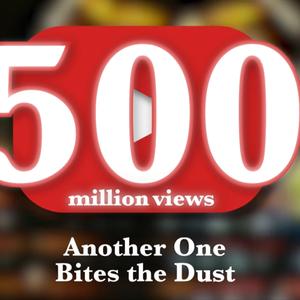 Vídeo de Another One Bites The Dust atinge 500 Milhões de visualizações