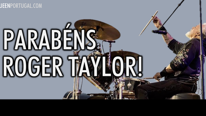Feliz Aniversário Mr. Roger Taylor!