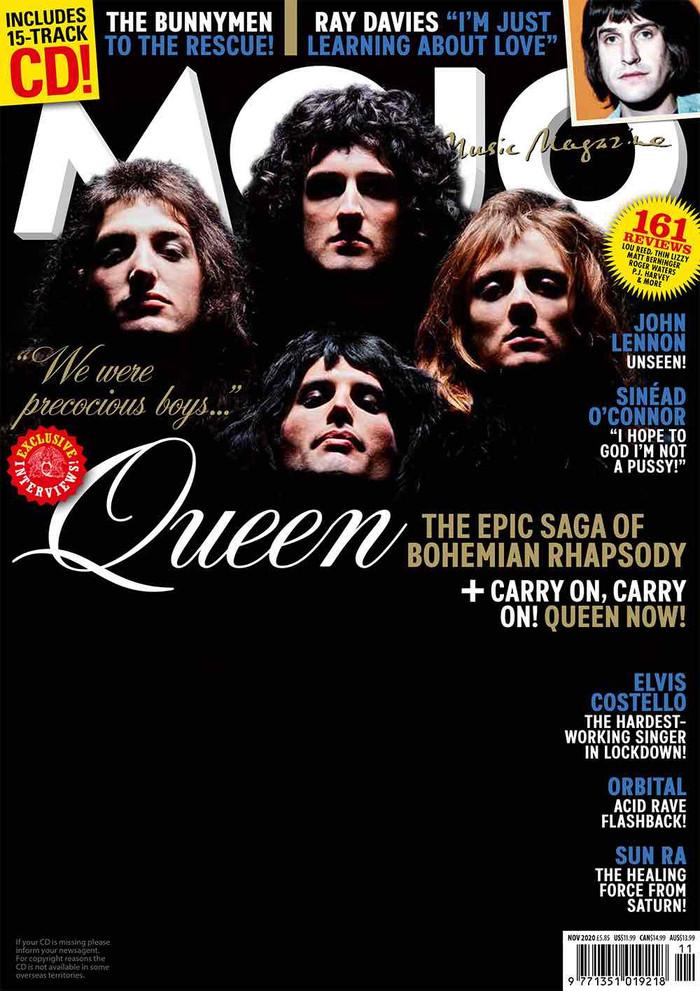 Os Queen na capa da MOJO