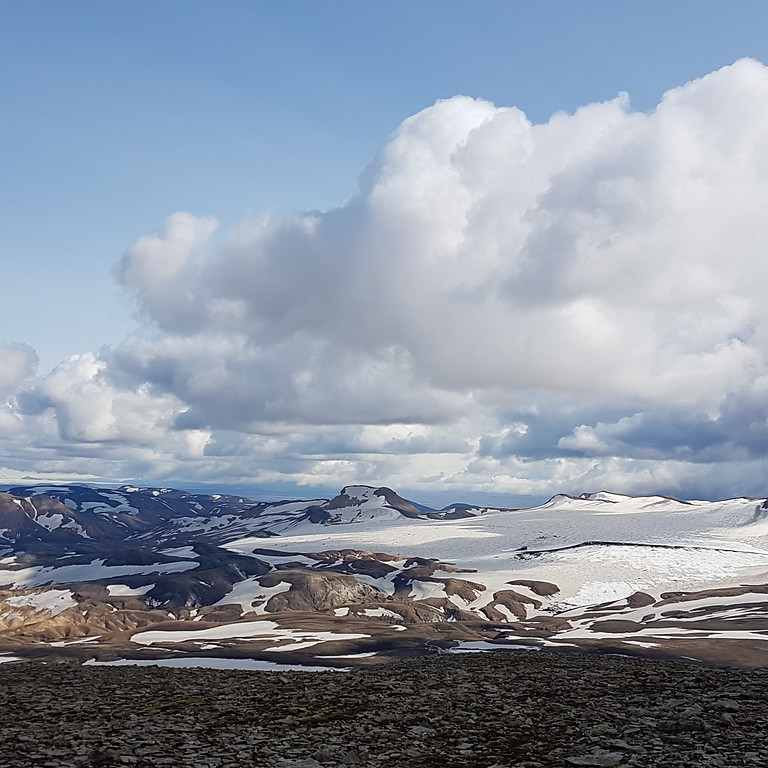 Torfajökull - eldstöðin sem myndar Friðlandið að Fjallabaki