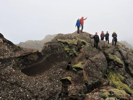 Sveifluhálsinn með Þorleifi - klúbbganga, þjálfarar í sumarfríi.