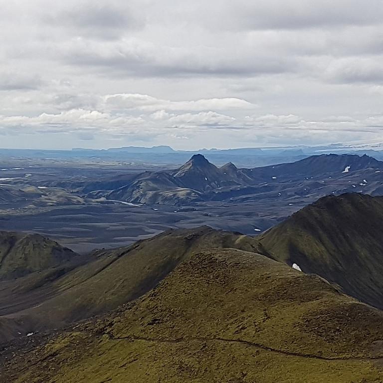 Uxatindar við Skaftá og Sveinstindur við Langasjó